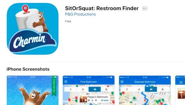 SitorSquat app